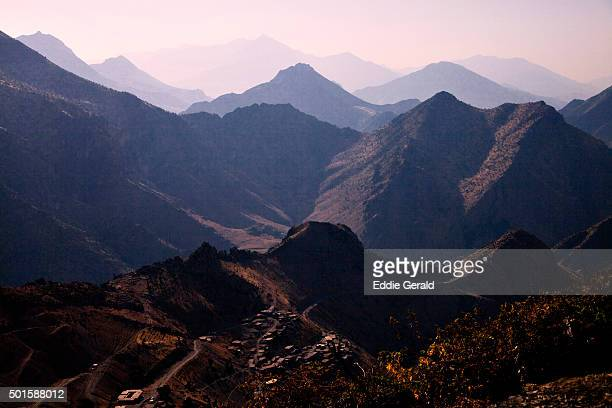 Scenic view of Qandil mountains Northern Iraq