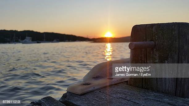 scenic view of river during sunset - james gorman stock pictures, royalty-free photos & images
