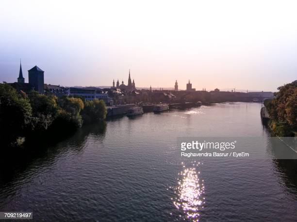 Scenic View Of River In Germany