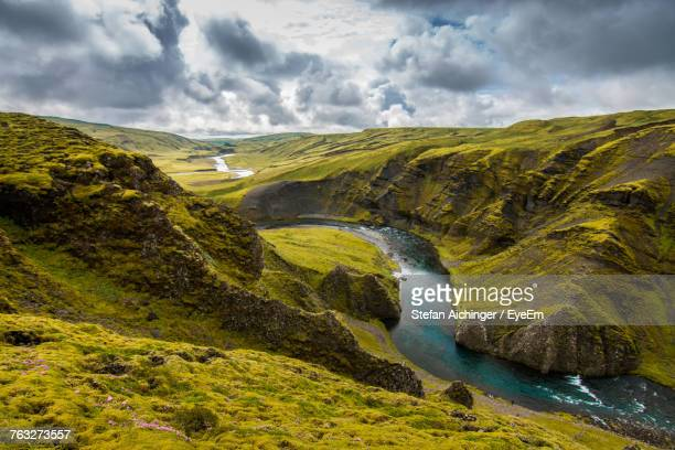 Scenic View Of River In Iceland