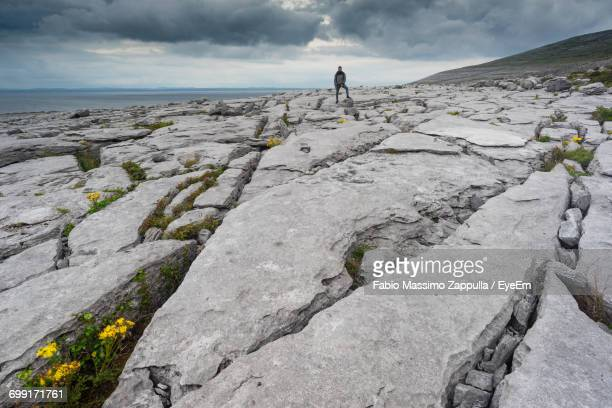 Scenic View Of Rocky Landscape Against Sky