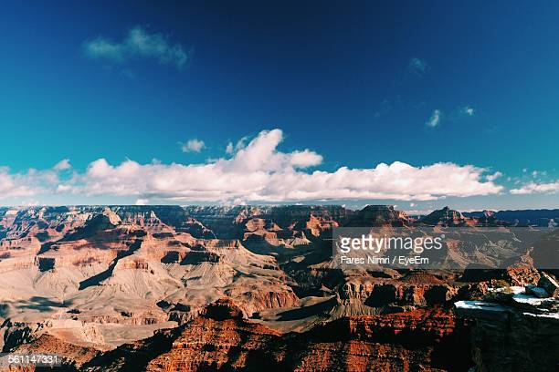 Scenic View Of Rocky Mountains At Grand Canyon National Park