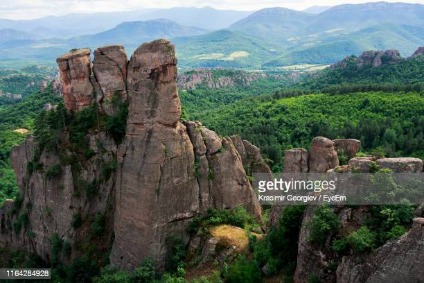 scenic view of rocky mountains - krasimir georgiev stock photos and pictures
