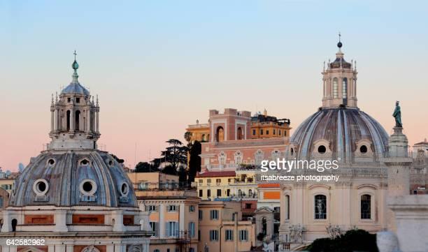 Scenic view of Rome
