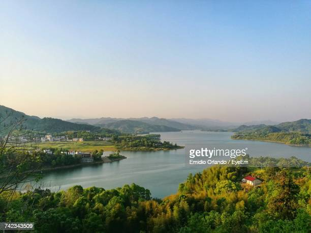 scenic view of sea against clear blue sky - special:whatlinkshere/file:lucerne_circle,_orlando,_fl.jpg stock pictures, royalty-free photos & images