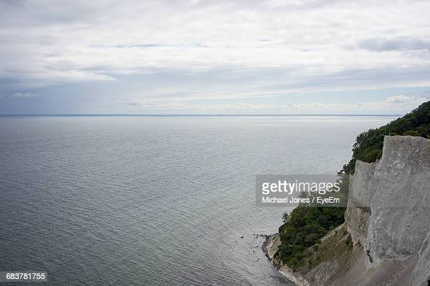 scenic view of sea against clear sky - michael stock photos and pictures