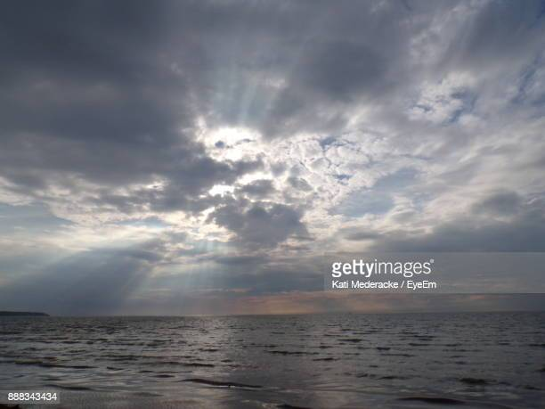 scenic view sea against sky during