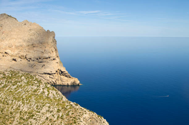 Scenic view of sea against sky, Illes Balears, Illes Balears, Spain