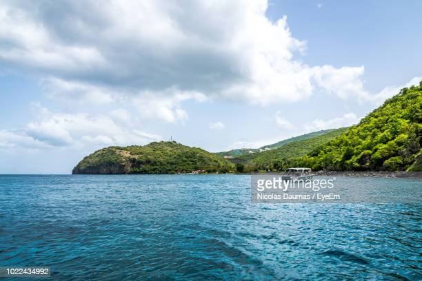 scenic view of sea against sky - french overseas territory stock pictures, royalty-free photos & images
