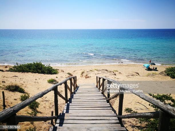 scenic view of sea against sky - antonella stock photos and pictures