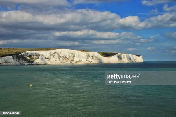 scenic view of sea against sky - kent england stock pictures, royalty-free photos & images