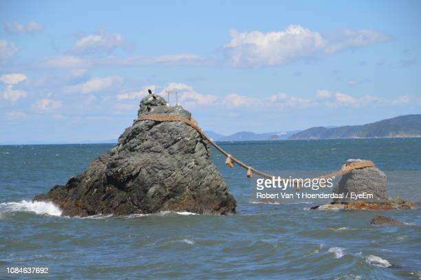 scenic view of sea against sky - ise mie stock pictures, royalty-free photos & images