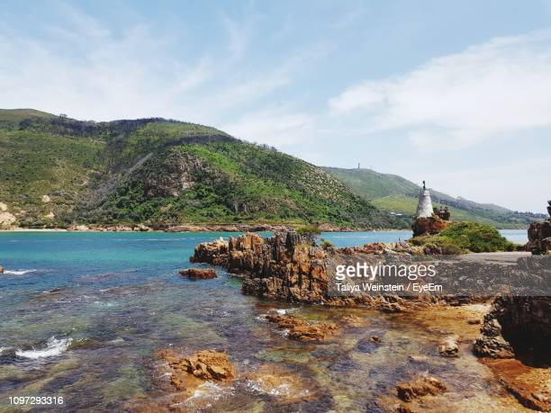 scenic view of sea against sky - weinstein stock pictures, royalty-free photos & images