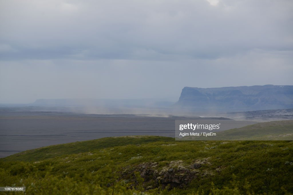 Scenic View Of Sea Against Sky : Stock-Foto