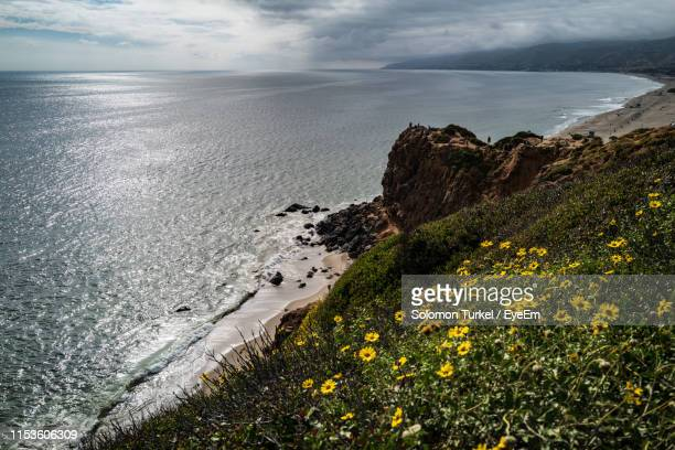 scenic view of sea against sky - solomon turkel stock pictures, royalty-free photos & images