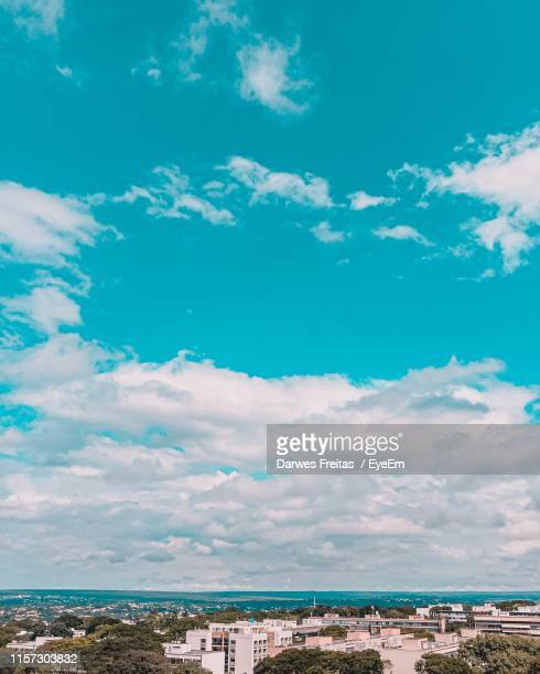 scenic view of sea against sky - distrito federal brasilia stock pictures, royalty-free photos & images