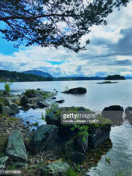 scenic view of sea against sky - eriksen stock pictures, royalty-free photos & images