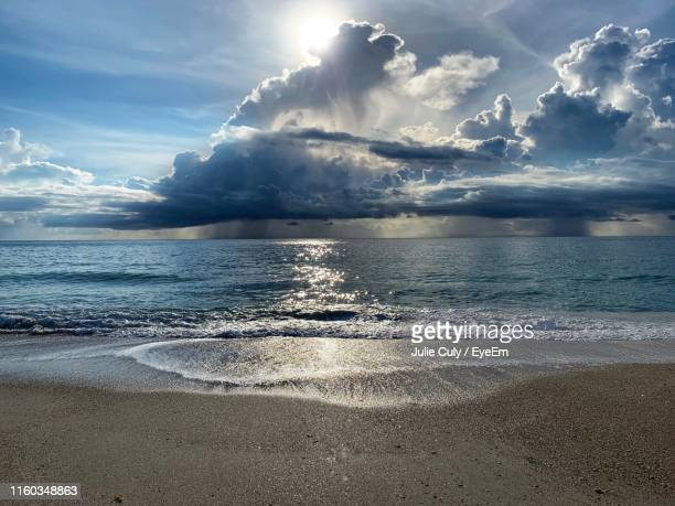 scenic view of sea against sky - julie culy stock pictures, royalty-free photos & images