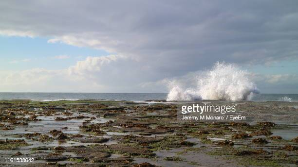 scenic view of sea against sky - jeremy monaro stock pictures, royalty-free photos & images