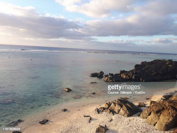 scenic view of sea against sky - caprice stock pictures, royalty-free photos & images