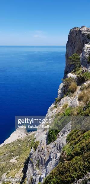 scenic view of sea against sky - aneta eyeem stock pictures, royalty-free photos & images
