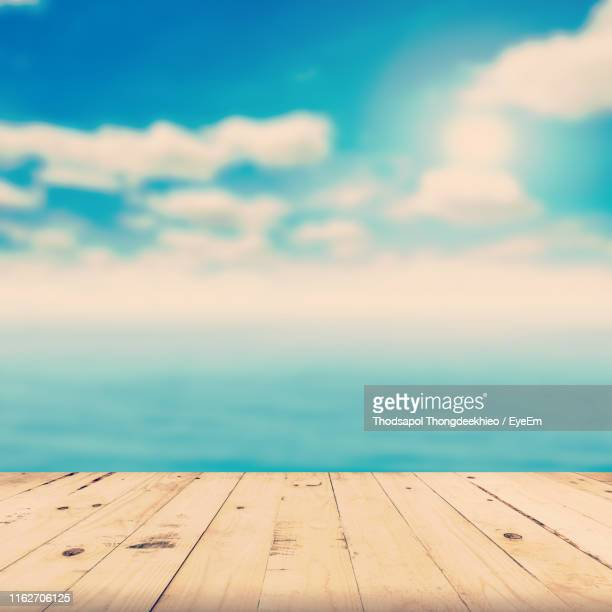 scenic view of sea against sky - paradise stock pictures, royalty-free photos & images