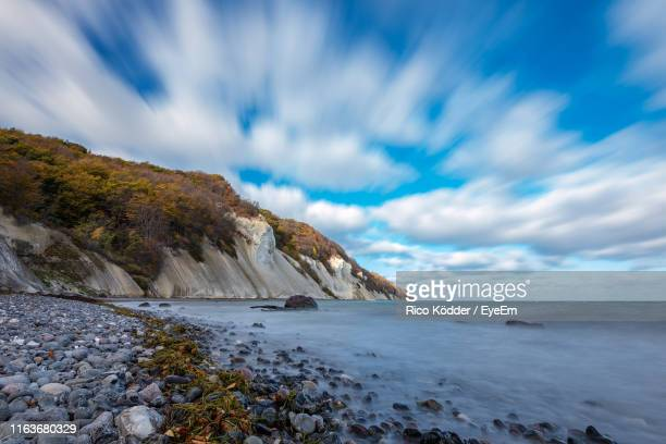 scenic view of sea against sky - zealand denmark stock pictures, royalty-free photos & images