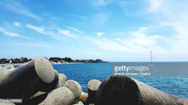scenic view of sea against sky - brandi johnson stock pictures, royalty-free photos & images