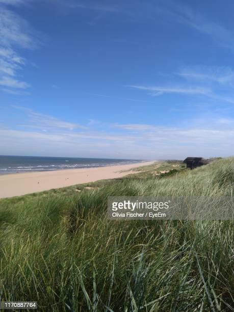scenic view of sea against sky - the hague stock pictures, royalty-free photos & images