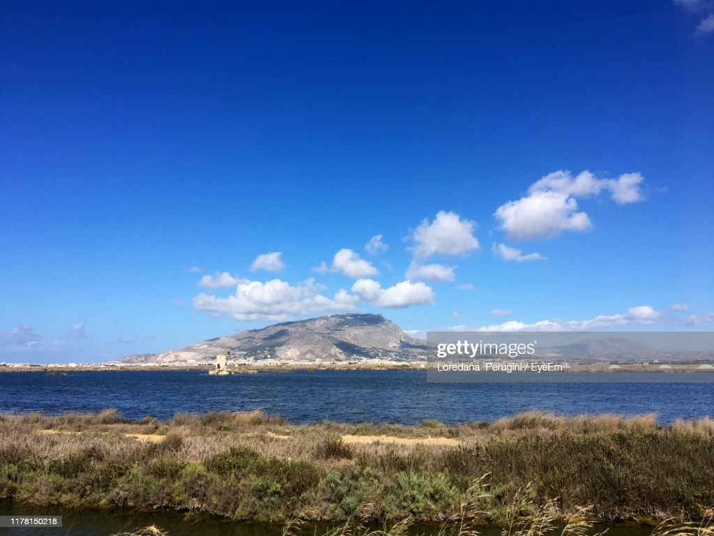Scenic View Of Sea Against Sky : Foto stock
