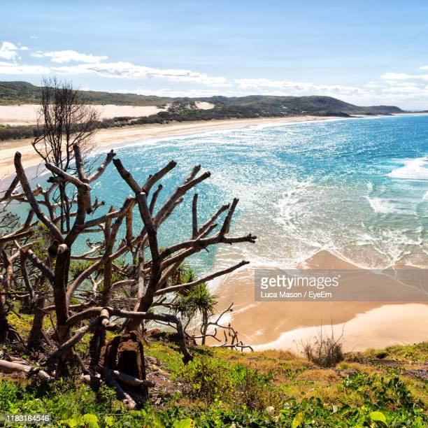 scenic view of sea against sky - north stock pictures, royalty-free photos & images