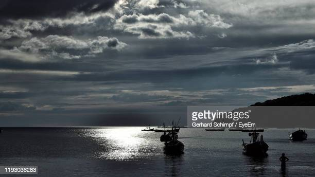 scenic view of sea against sky - gerhard schimpf stock pictures, royalty-free photos & images