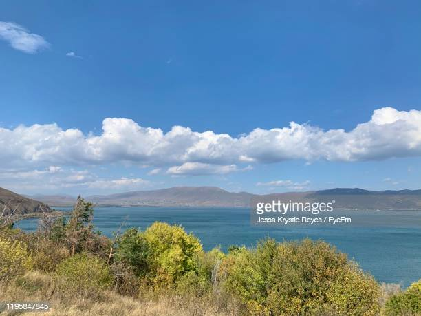 scenic view of sea against sky - jessa stock pictures, royalty-free photos & images