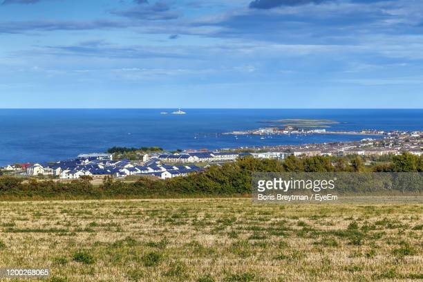 scenic view of sea against sky - boris stock pictures, royalty-free photos & images