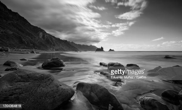 scenic view of sea against sky - seascape stock pictures, royalty-free photos & images