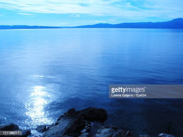 scenic view of sea against sky - lorena day stock pictures, royalty-free photos & images