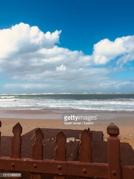 scenic view of sea against sky - sarah sands stock pictures, royalty-free photos & images