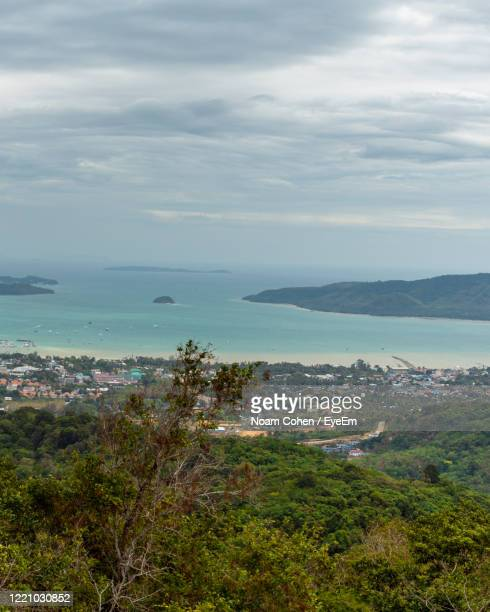 scenic view of sea against sky - noam cohen stock pictures, royalty-free photos & images