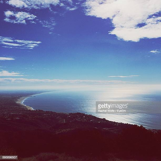 scenic view of sea against sky - rachel wolfe stock pictures, royalty-free photos & images