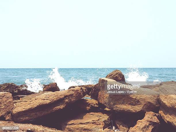 scenic view of sea against sky - lopez stock pictures, royalty-free photos & images