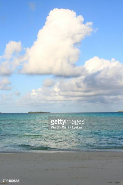 scenic view of sea against sky - chiba city stock pictures, royalty-free photos & images