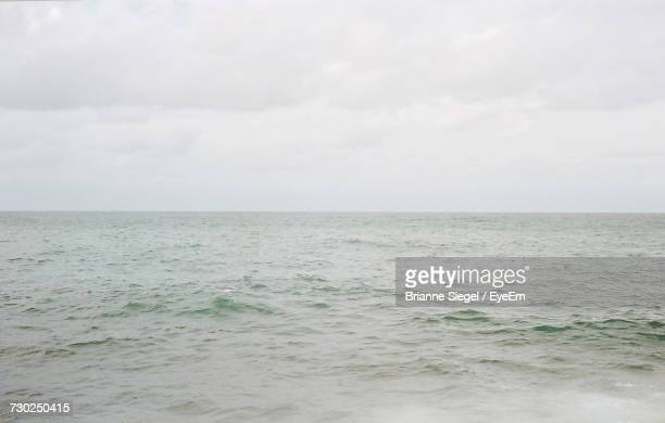 scenic view of sea against sky - brianne stock pictures, royalty-free photos & images
