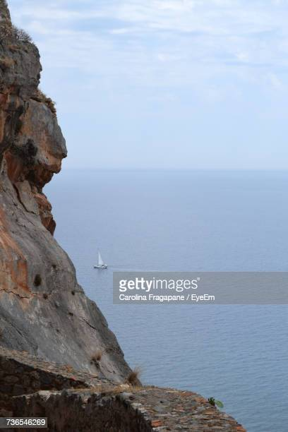 scenic view of sea against sky - carolina fragapane stock pictures, royalty-free photos & images