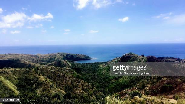 scenic view of sea against sky - guam stock pictures, royalty-free photos & images