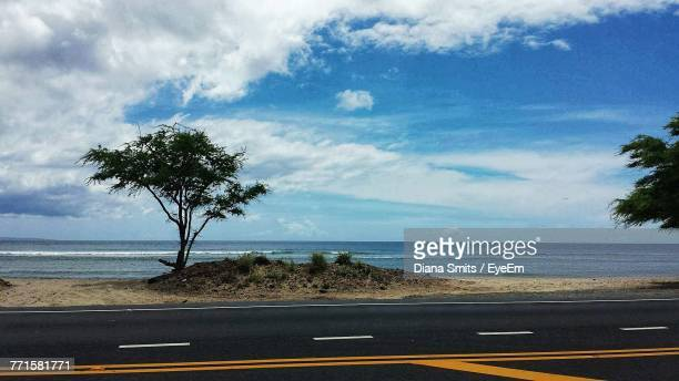 scenic view of sea against sky - kamloops stock pictures, royalty-free photos & images