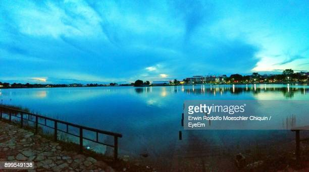 scenic view of sea against sky - guatemala city stock pictures, royalty-free photos & images