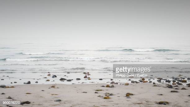 scenic view of sea against sky - eastern usa stock photos and pictures
