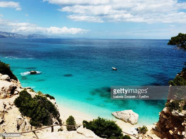 scenic view of sea against sky - swiatek stock pictures, royalty-free photos & images