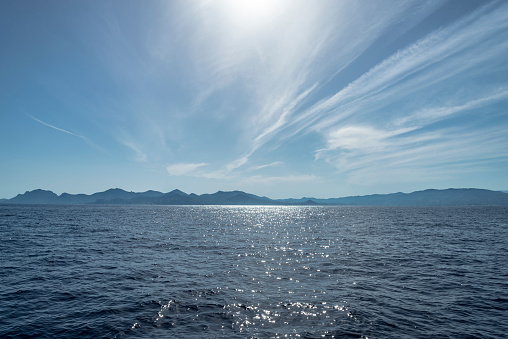Scenic View Of Sea Against Sky - gettyimageskorea