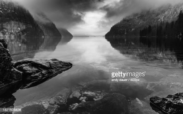 scenic view of sea against sky,germany - andy dauer stock pictures, royalty-free photos & images